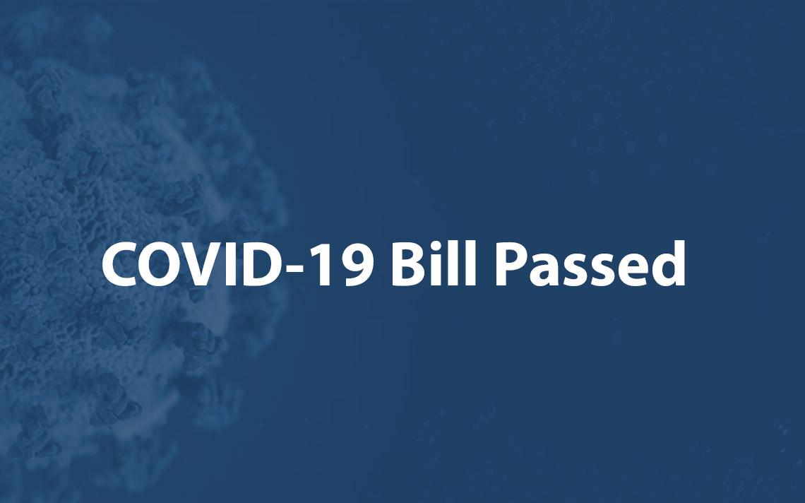COVID 19 Bill Passed