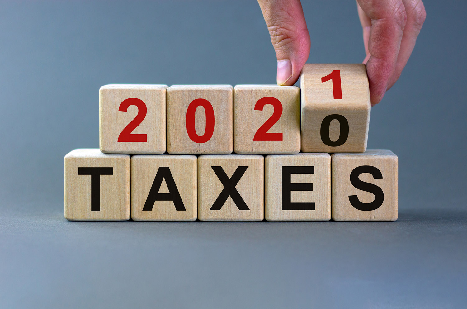 Important update: 2021 tax provision changes