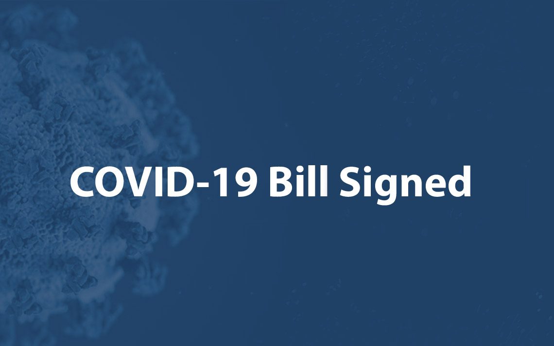 New COVID-19 Relief Bill Signed Into Law
